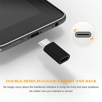 3PCS Micro USB To Type C Android Phone Cable for Huawei Sumsang Xiaomi Microusb To Typec Usbc Otg Adapter Charging Data Cable 1