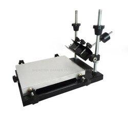 Jeden kolor drukarka sitowa T shirt ekran maszyna drukarska płaskie drukowanie naciśnij obszar drukowania w Centrum obróbki od Narzędzia na