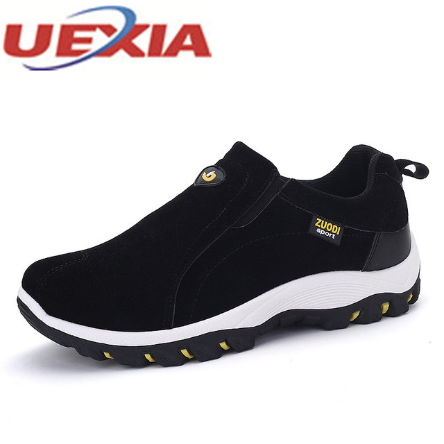 33b1e73f0aee UEXIA High Quality Big Size 47 Outdoor Sport Walking Men Shoes Casual  Walking Sneaker Flats Trainers