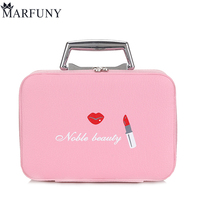 MARFUNY Brand Cosmetic Bag Women Makeup Bags High Quality Women Travel Necessaire Toiletry Make Up Box