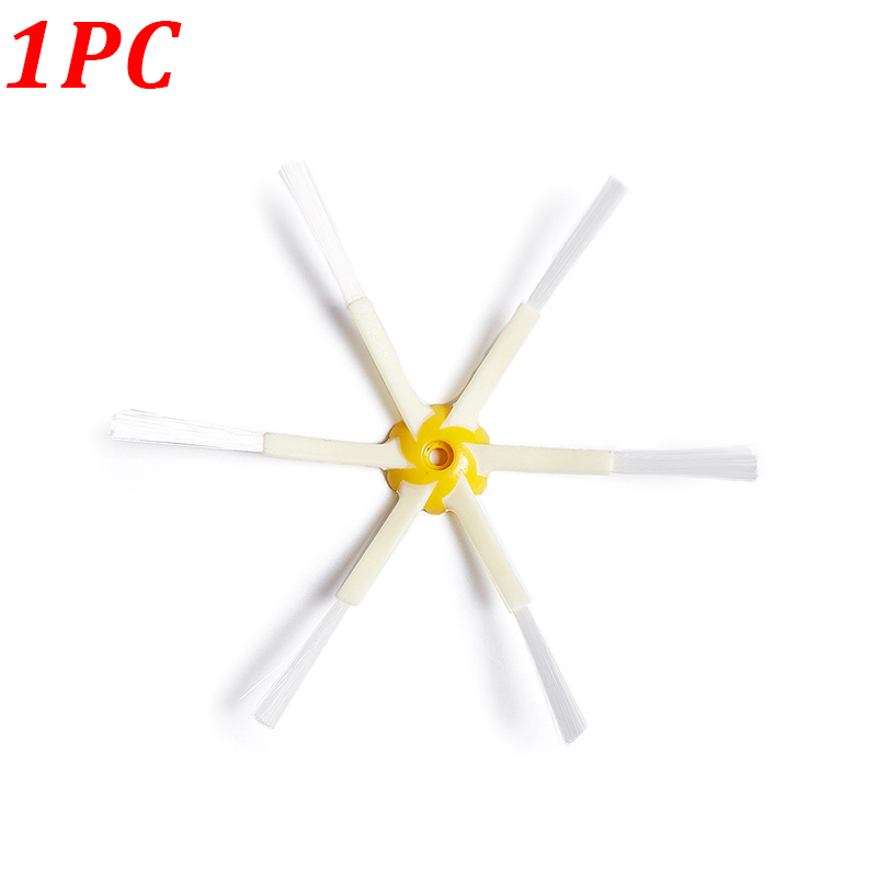 1PC 6-Armed Side Brush For IRobot Roomba 500 600 700 Series 520 610 620 650 760 770 780 Robot Vacuum Cleaner Replacement Parts