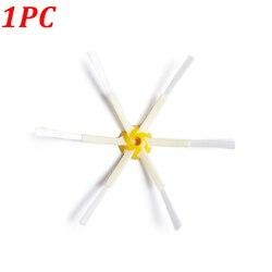 1PC 6-armados lado cepillo para iRobot Roomba 500, 600, 700 Series 520, 610, 620, 650, 760, 770, 780 Robot piezas de recambio de aspiradora