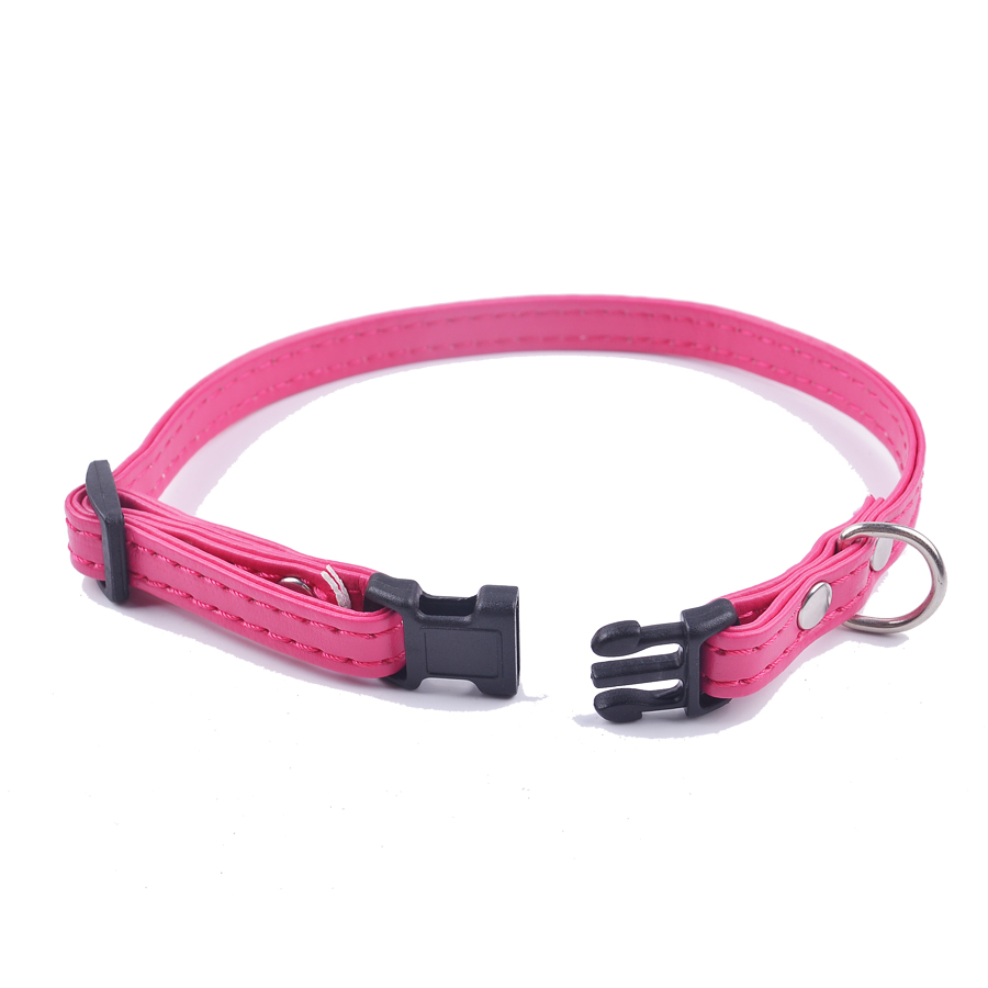 Big Sale Cat Collar For Small Dogs Puppies Pu Leather Puppy Pet Cat Supplies Adjustable Breakaway Pet Cats Collars