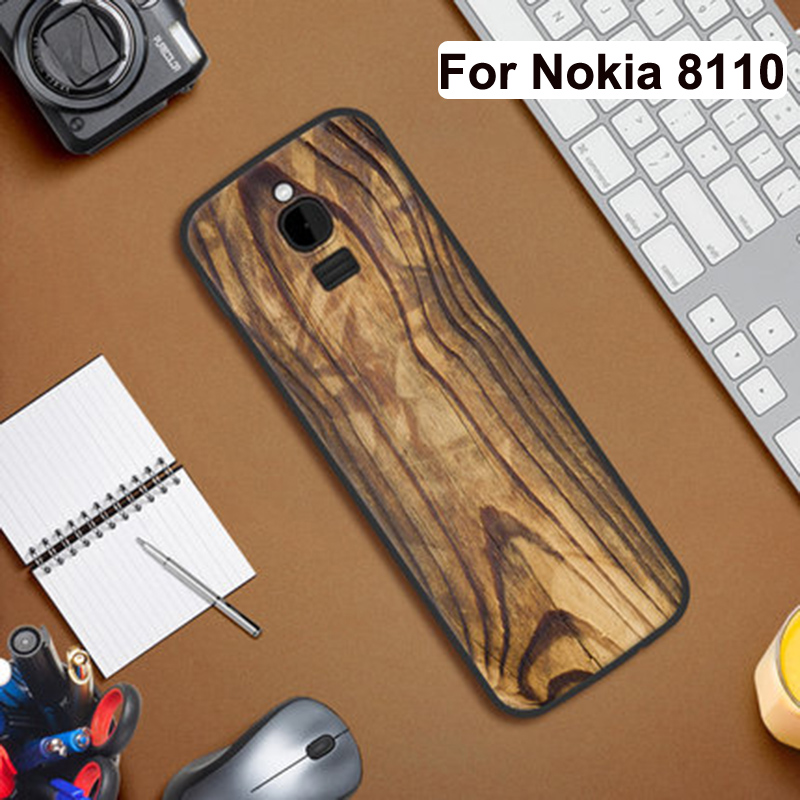 For Nokia 8110 Case ultra thin Silicone soft back cover for Nokia 8110 4G Patterned Phone Cases For Nokia TA-1059 coque
