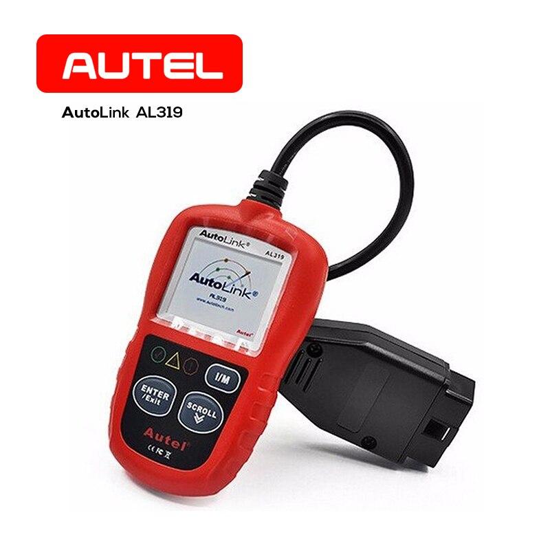Autel Autolink AL319 OBD2 EOBD Diagnostic Code Reader Scanner Tool Color Screen