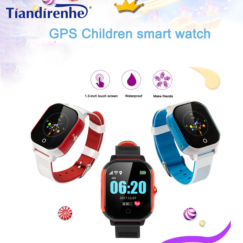 цена GPS WIFI FA23 Smart Children Watch Baby SIM Card Touch Screen SOS Tracker Kids Alarm Clock Anti-Lost Smartband pk Q90 Q80 q750
