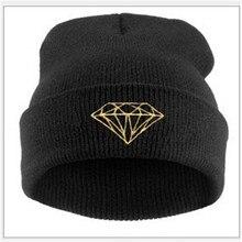 Мода Toucas алмаз, Шапочка алмаз Touca Gorro зимнюю шапку шапочки Skullies для мужчин и для женщин Toucas де Inverno Gorros шапки