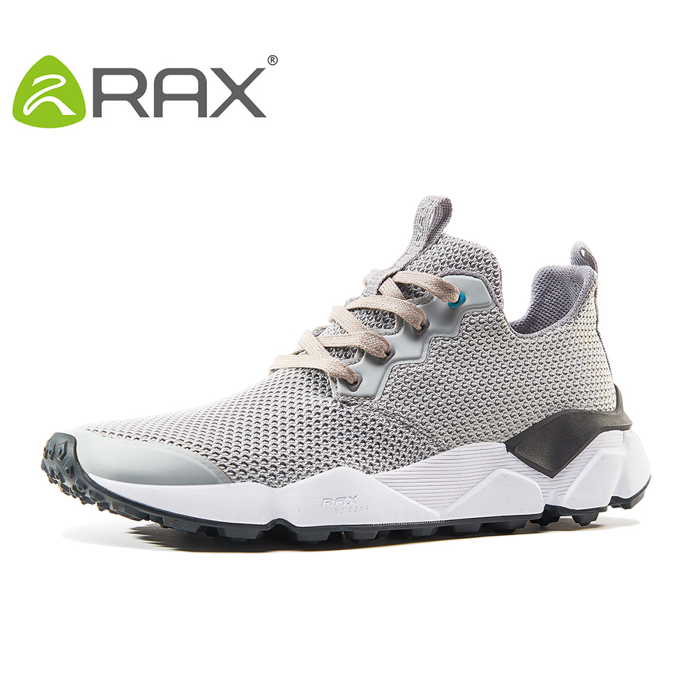 Rax 2017 New Men Lightweight Trail Running Shoes Women Breathable Lightweight Outdoor Sports Men Sneakers Antiskid Walking Shoes rax summer hiking shoes men breathable outdoor sneakers antiskid trail mountain shoes women sports shoes durable climbing shoes