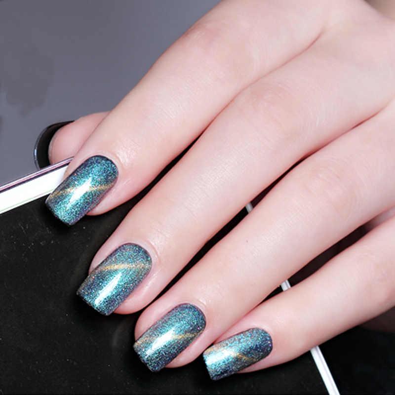 YAYOGE elegante imán ojo de gato 10ml esmalte de Gel de uñas 12 colores UV LED arte barniz de colores de larga duración laca remojo de manicura
