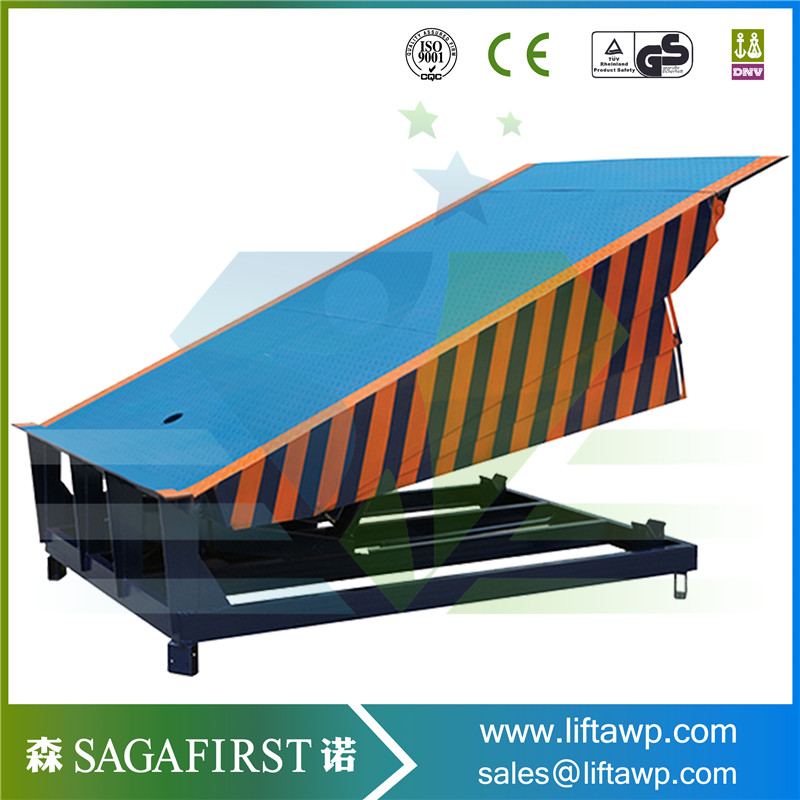 Movable 8t hydraulic container dock ramp for truck with CE ...