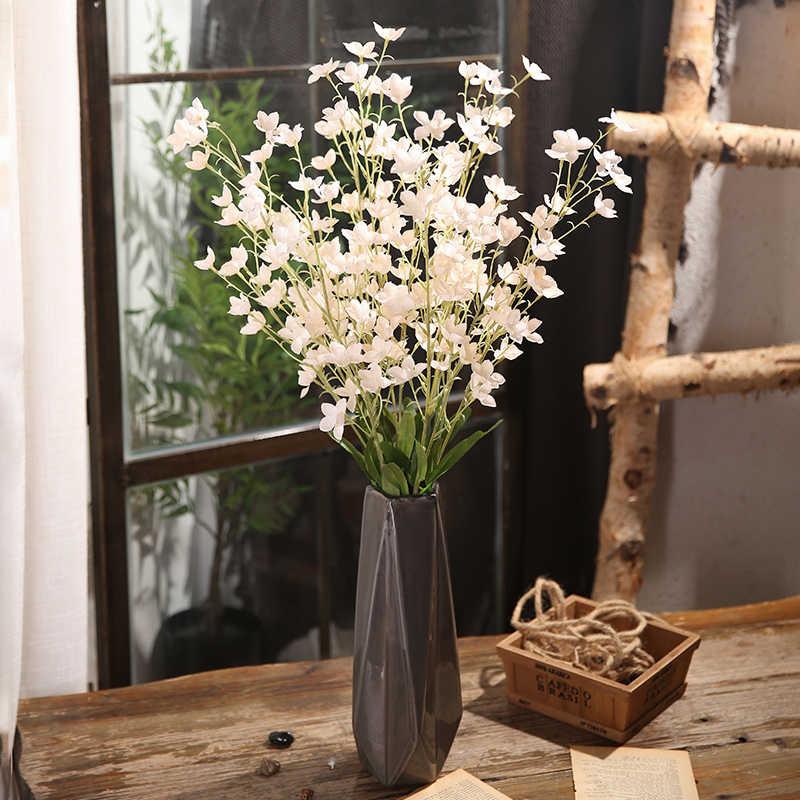 Xuanxiaotong 1 قطعة 95 سنتيمتر الرقص السحلية الزهور الاصطناعية ل الزفاف المشهد الديكور الزهور المنزل حزب ديكور