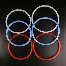 Силиконовое уплотнительное кольцо 6/8 кварта для быстрого кастрюли электрическая скороварка красный/синий/белый