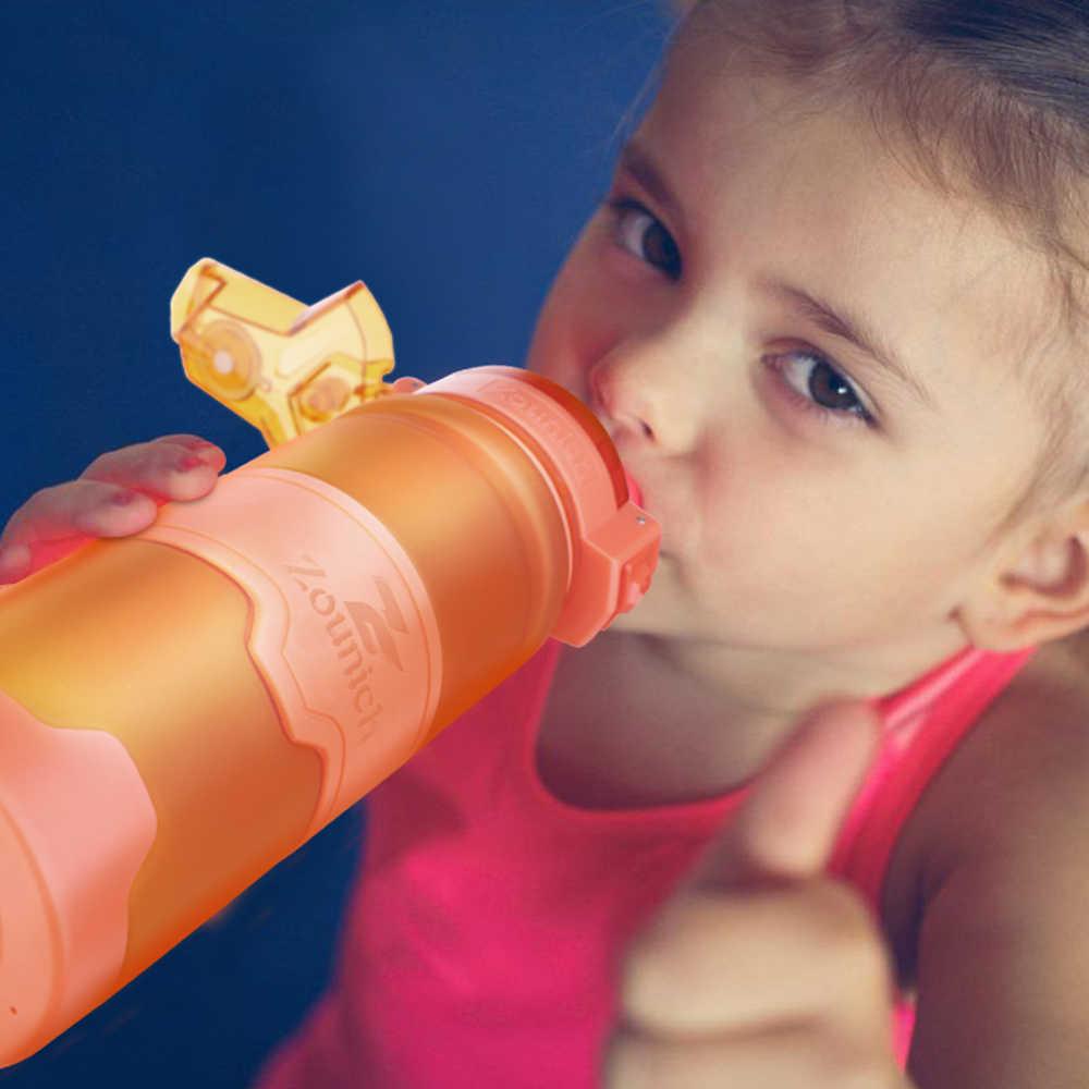 Zounich Shaker กีฬาน้ำขวด Camping Hiking เครื่องดื่มขวด 400 Ml/500 Ml/700 Ml/1000 พลาสติก Tritan Drinkware BPA ฟรี