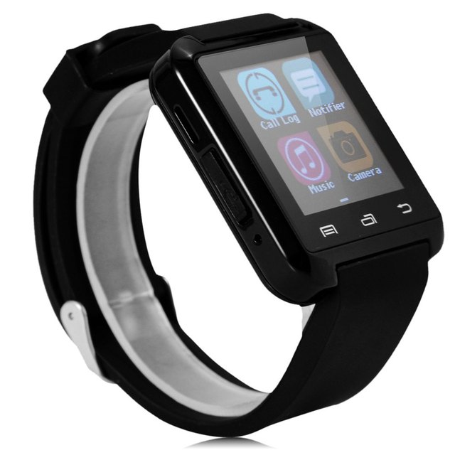 2017 Hot sale U8 Smartwatch Bluetooth Watch Drink Clock Passometer Touch Screen Answer and Dial the Phone with retail box