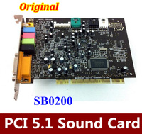 Original 1PCS For Creative SoundBLASTER LIVE 5 1 Surround PCI Sound Card SB0200