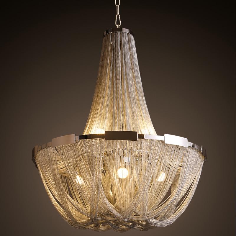 Creative Atlantis Stream Design Living Room Pendant Lights Aluminum Hanging Lamp For Villas Hotels Modern Kitchen