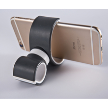 Creative Double C Multi-function Purpose Universal 360 Degrees Air Vent Mount Bicycle Car Steering Wheel Cell Phone Stand Holder