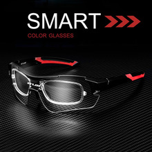 All-weather Riding Glasses Ultraviolet-proof Goggles Sports Sunglasses Intelligent Glasses Color Shifting Windshield Hot Sale
