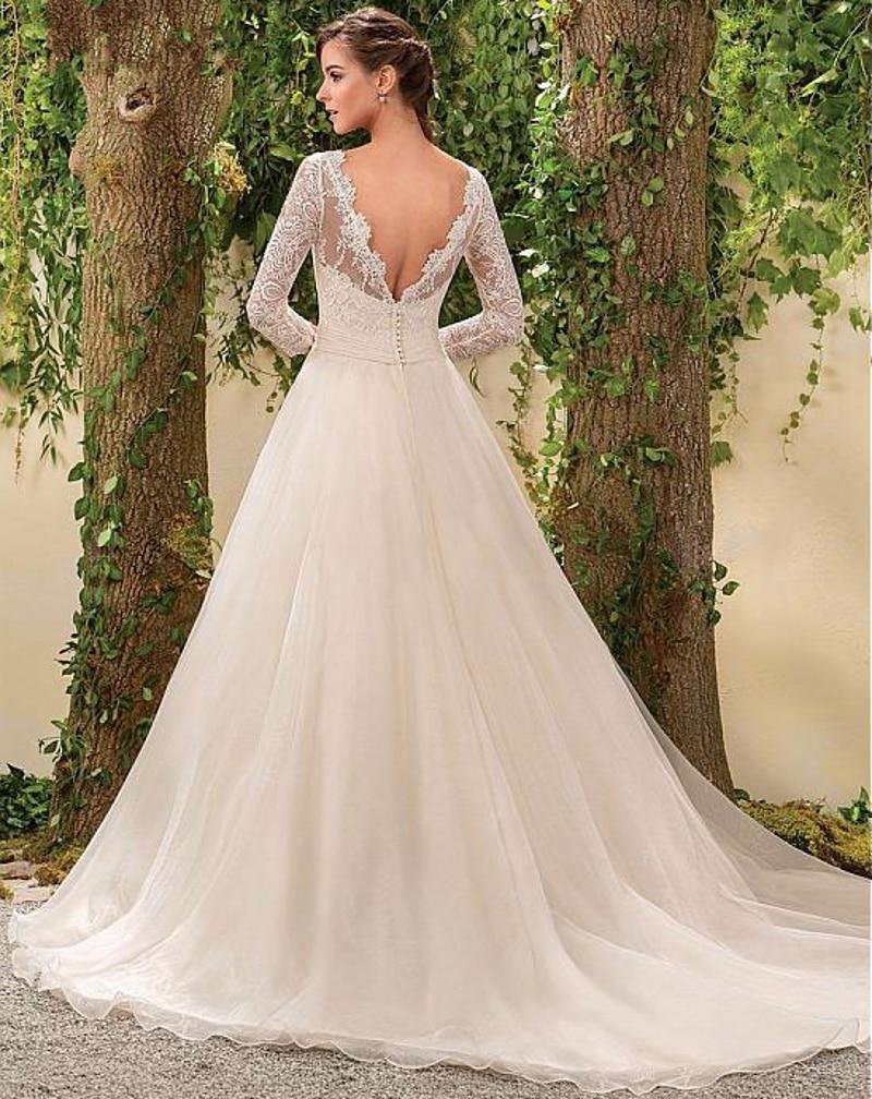 Atemberaubend Vintage Eine Linie Brautkleider Zeitgenössisch ...