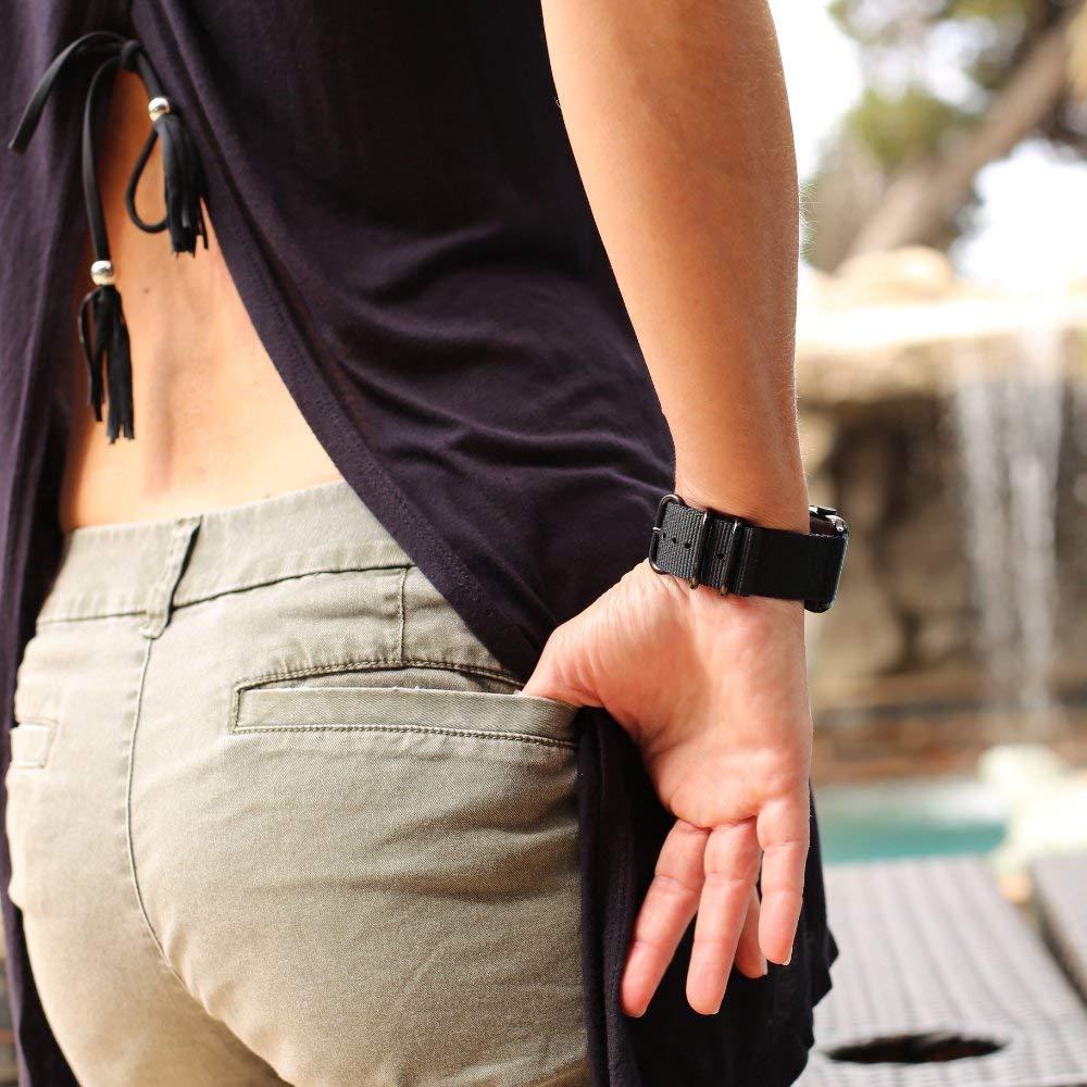 Bracelet Nylon Tissé Apple Watch