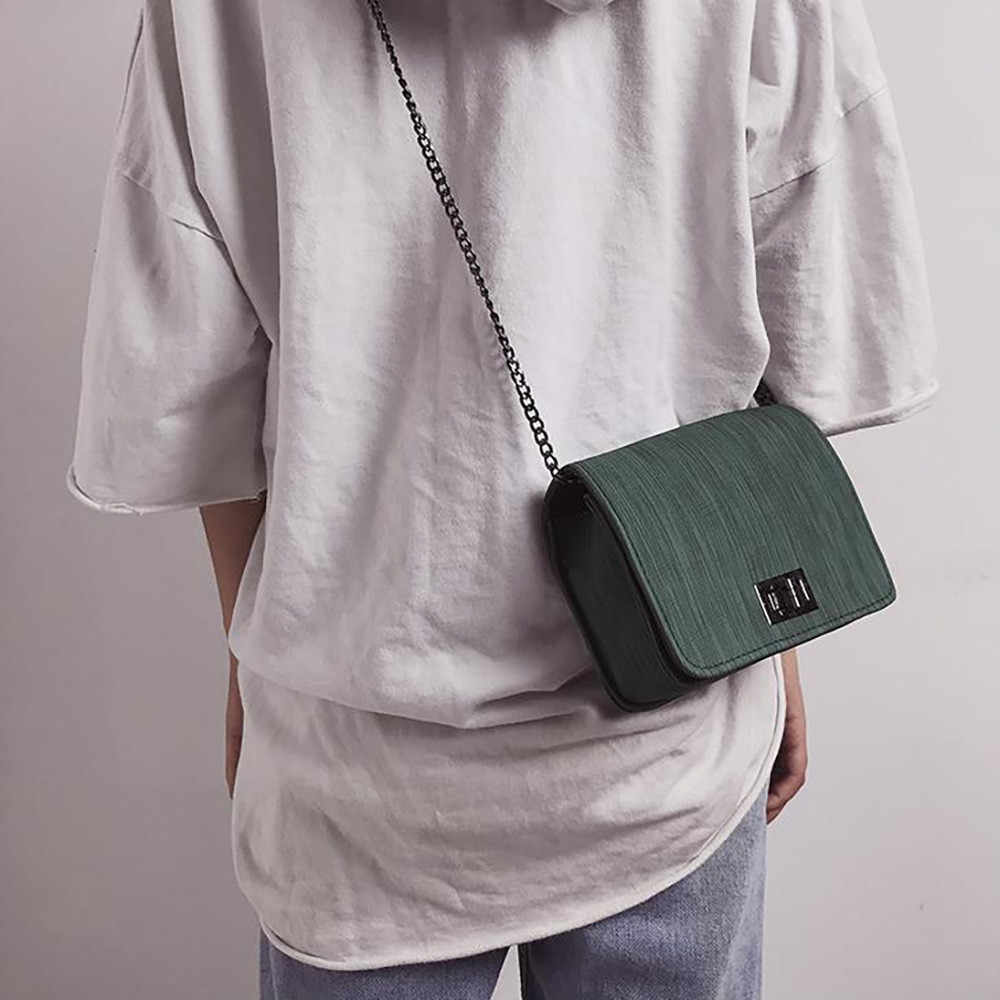 Worean Schoudertas luxe handtassen vrouwen tassen designer Versie Luxe Wilde Meisjes Kleine Vierkante Messenger Bag bolsa feminina #5 $