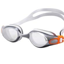 Взрослых Плавание, Для женщин гальваническим Водонепроницаемый Анти-туман прозрачные очки Высокое разрешение ясно Лен Очки Для Плавание ming аксессуар