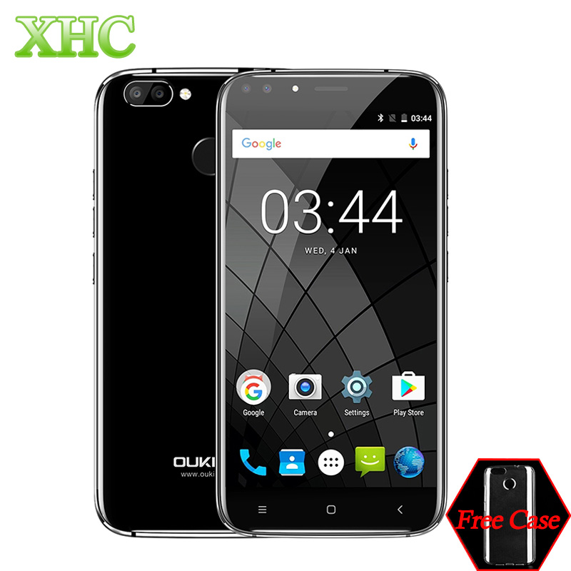 OUKITEL U22 WCDMA 3G Smartphone Dual Front Cameras Fingerprint Id 5 5 inch Android 7 0