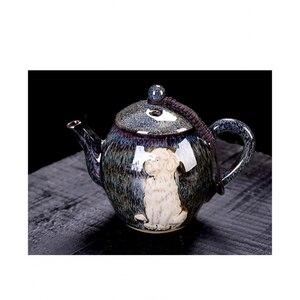 Image 4 - Keramik Teekanne Porzellan Kung Fu Tee Set Teekannen Wasserkocher Chinesischen Stil Tee Topf Home Restaurant Hotel Wasser Krug Krug Teegeschirr