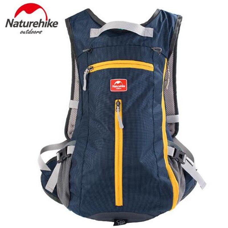 NatureHike Men Women 15L Travel Backpack Outdoor Sport Hiking Camping Mountaineering Bag Tactical