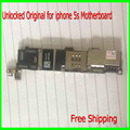 16 ГБ Оригинальный Разблокирована для iphone 5s Материнской Платы с Чипами, 5S Материнская Плата Без Идентификации По Отпечаткам Пальцев, Хорошие Рабочие