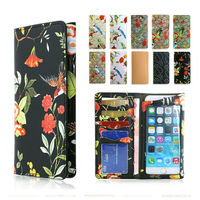 PU Leather Phone Case Wallet Pouch Cover For Iphone 6 Plus For Iphone 6S Plus For