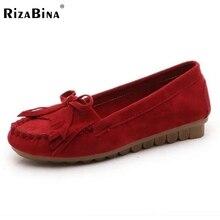 Women Soft Flat Shoes Woman Sweet Bowtie Tassel Shoes Fashion Spring Autumn Round Toe Doug Shoes Woman Size 35-39 Z00110