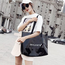Chuwanglin New Transparent Beach handbag summer casual handbag woman  shoulder bags Wild Jelly bag feminine bags c7d2fb0c1af33