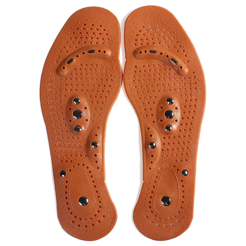 New Arrival Magnetic Therapy Magnet Health Care Foot Massage Insoles Men/ Women Shoe Comfort Pads FM1188