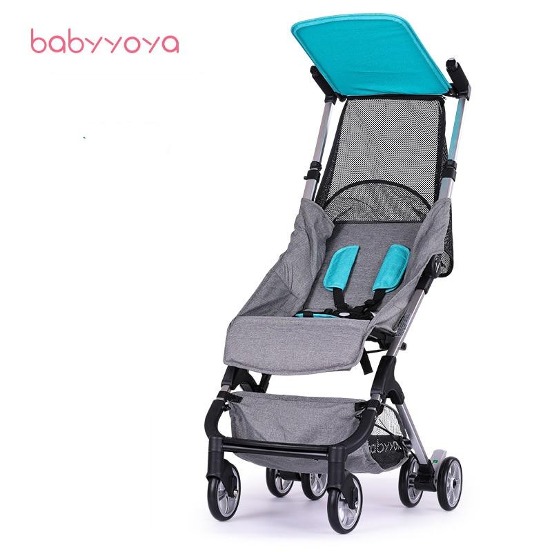 BABYYOYA 5 Yoya Travel baby Stroller Umbrella Folding Trolley Poussette Kinderwagen Buggy Stroller Pram light easy portable feu led tmax 530