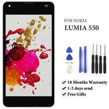 For Microsoft Nokia Lumia 550 LCD Display With Touch Screen With Frame Assembly For Microsoft Nokia Lumia 550 LCD Screen стоимость