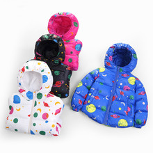 Children's reima Winter Coat Boy Outerwear CottonJacket Girls Jacket Coat for Girls Parka Hooded Kids Jacket Children Clothing