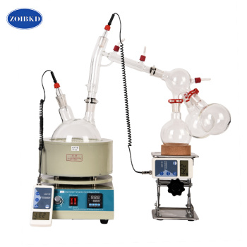 Laboratory  Equipment 2L Short Path Distillation Chemistry Lab Distillation Economic Short Path Distillation цена 2017