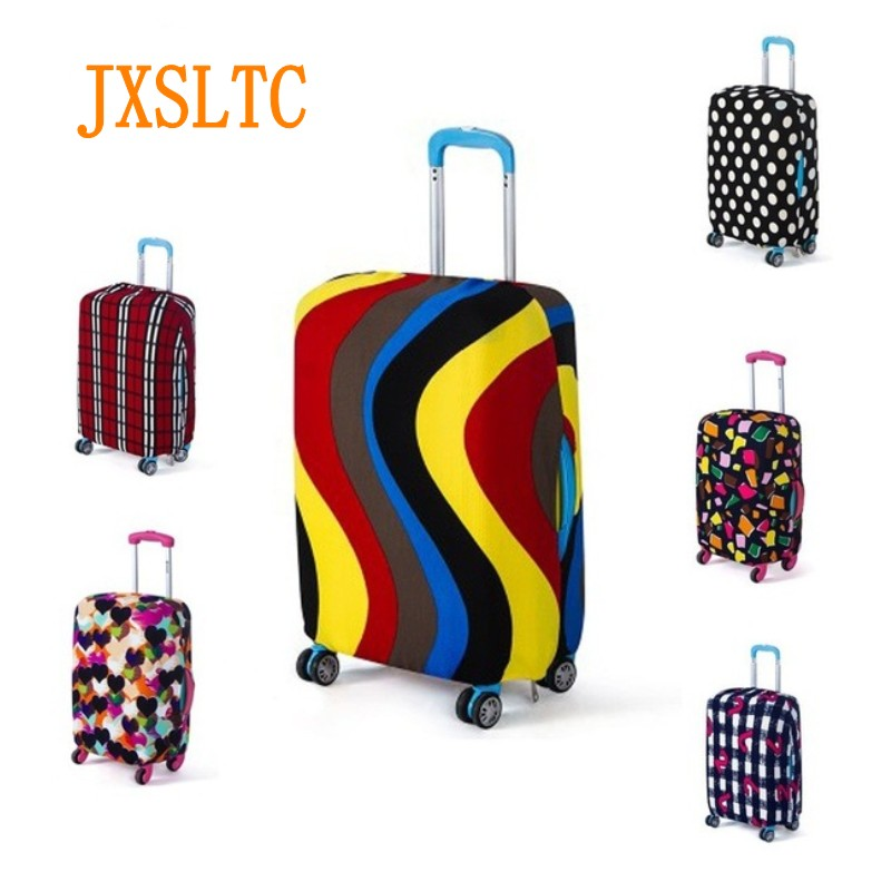 Luggage-Protective-Case Suitcase Baggage-Tag Dust-Cover Travel-Accessories Elastic Fashion
