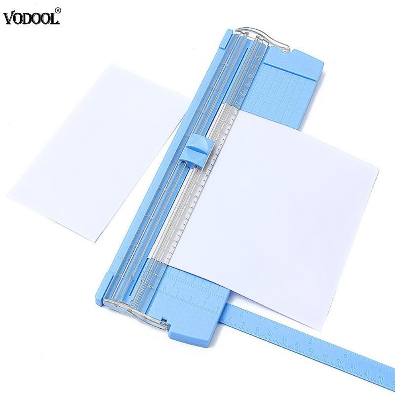 VODOOL A4/A5 Portable Light Paper Trimmer Cutter Precision Photo Scrapbooking Lightweight Cutting Mat Blade Machine Cutting Tool