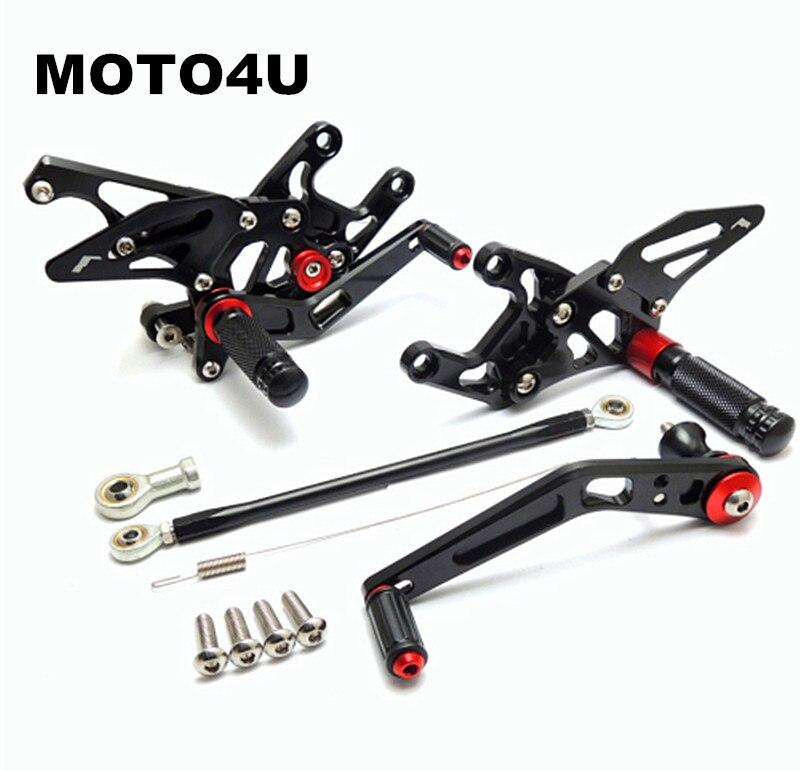 Здесь продается  MOTO4U CBR1000RR CNC Adjustable Rearsets Foot Rest For Honda CBR 1000 RR 2008 2009 2010 2011 2012 2013 2014 7075 Aluminum  Автомобили и Мотоциклы