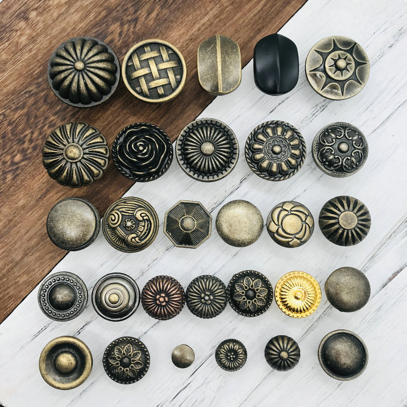 Hardware Antique Furniture-Knobs Handles Cupboard Cabinet Drawer Door Kitchen Bronze