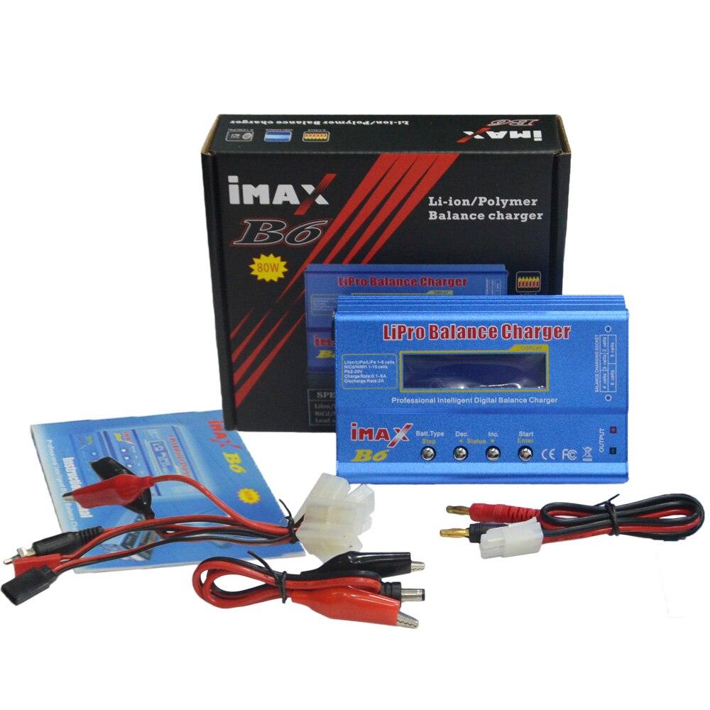 DC Balancenaufladeeinheit Entlader iMAX B6 80 Watt mit Ladekabel Sets XT60 stecker große/mini Tamiya Deans stecker Optional