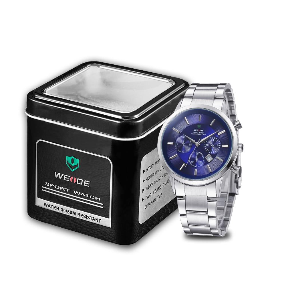 WEIDE 신사 값 비싼 쿼츠 시계 Luxury Brand Sport Watch - 남성 시계 - 사진 2