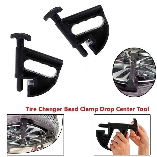 1 piezas conveniente cambiador de neumáticos de abrazadera gota centro de la herramienta Manual a mano de estilo interruptor