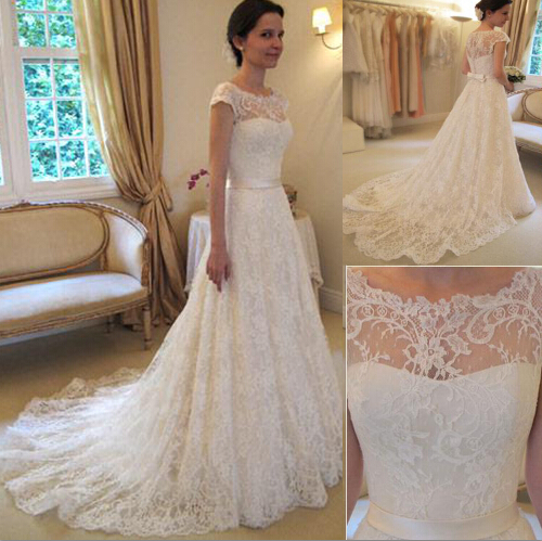 Aliexpress.com : Buy 2017 Romantic Wedding Dresses vestidos de ...