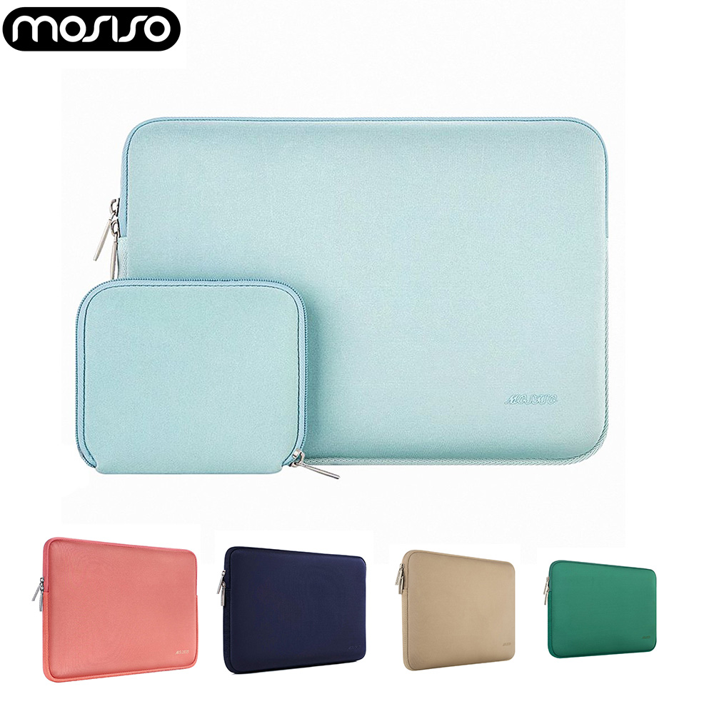 MOSISO Laptop Bag For Macbook Air Pro 11 12 13 14 15 Retina Computer Notebook 11.6 13.3 15.6 Inch Sleeve Waterproof Bag Cover