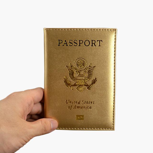 Cute USA Passport Cover
