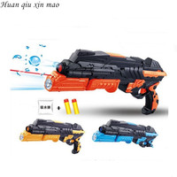 Free Shopping Light Infrared Ray Soft Elastic Toy Gun Paintball Gun Pistol Soft Bullet Gun Water