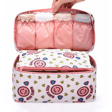 M Size Travel Bags For Bra Underwear Underpant Clothing Women's Fashion Toiletry Cosmetic Storage Bag Organizer Accessories Item